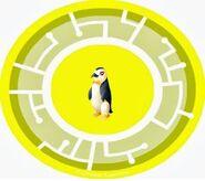 Party Penguin Power Disc