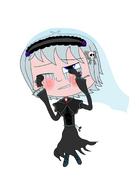 Luna Girl's banshee outfit