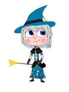 Luna Girl's witch costume