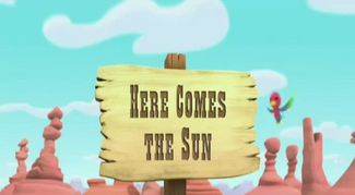 Here Comes the Sun titlecard