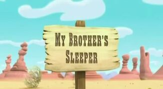 My Brother's Sleeper titlecard