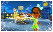 Tinker Bell and Mii Photos