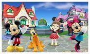 Mickey Pluto Minnie and Mii Photos