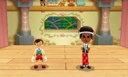 DMW2 - Pinocchio and Mii