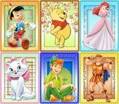 DMW Disney Friends Cards