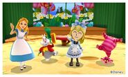 Alice with Friends and Mii Photos