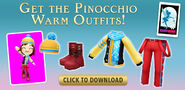 Pinocchio warm outfits