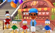 Scrooge Three Little Nephews and Mii Photos