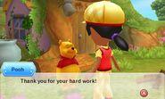 Winnie the Pooh Met Mii - DMW2