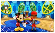 Mickey Mouse and Mii Photos