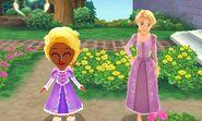 DMW2 - Rapunzel Flowers