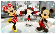 Modern Mickey Modern Minnie and Mii Photos