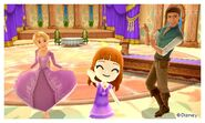 Rapunzel Flynn and Mii Photos