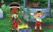 DMW2 - Mii and Pinocchio