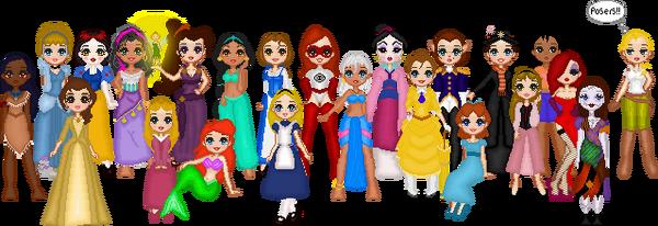 Disney Girls LadiesWhoLunch