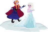 Anna & Elsa pussycatpuppy