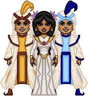 Aladdin Wedding TTA