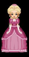 Cinderella's First Palace Dress