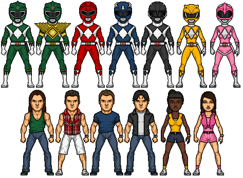 Mighty morphin power rangers 2 by omniferis-d41cqj0
