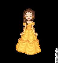 Belle yellow dress by lolascheving-da2yxxv