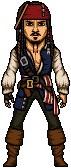 Captain Jack Sparrow iradoosmeusbonecos