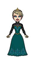 Elsa's Coronation Gown