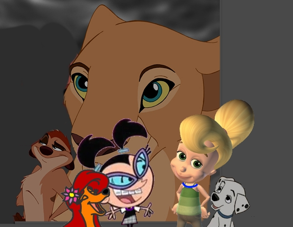 File:Timon and Nala Amber and Tootie Cindy Vortex and Penny Disney Crossover.jpg