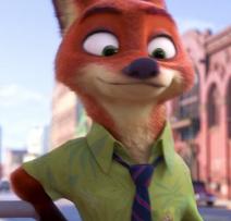 Nick the Cool Fox