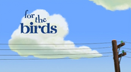 For The Birds Logo