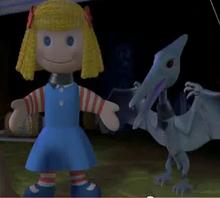Janie Doll & Pterodactyl