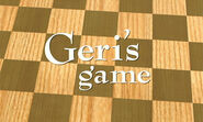 Geri's Game Logo