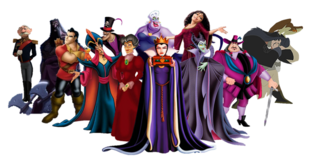 Disney princess villains