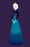 Elsa coronation full body