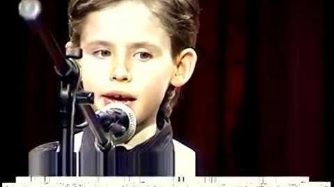 What a Wonderful World - 7-year-old Oleg Aleksandrov