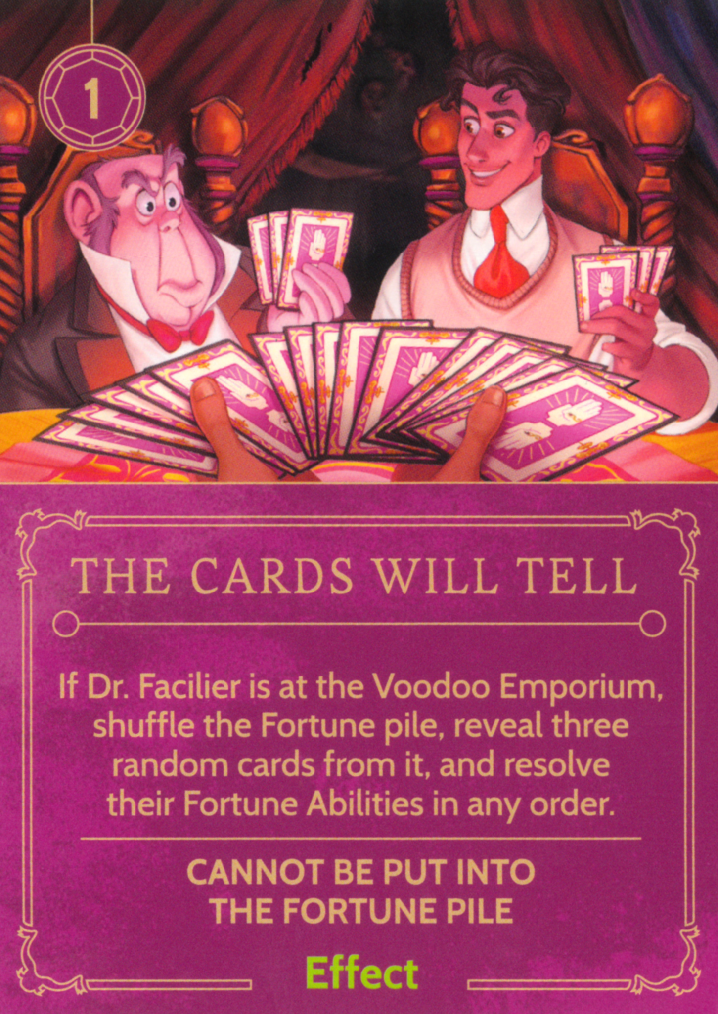 The Cards Will Tell | Disney Villainous Wiki | FANDOM