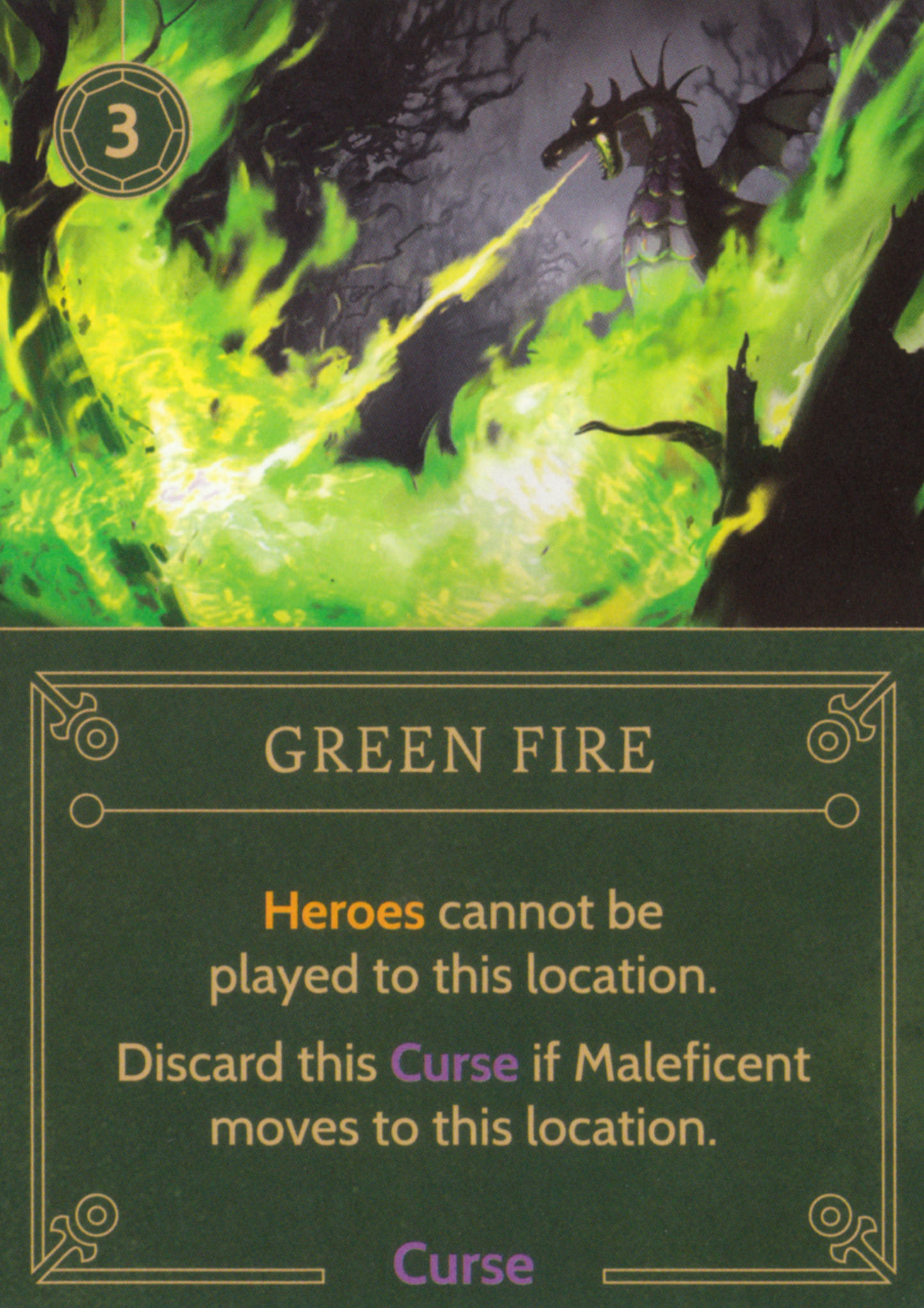 Green Fire Disney Villainous Wiki Fandom Powered By Wikia