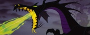 Malefiscent dragon