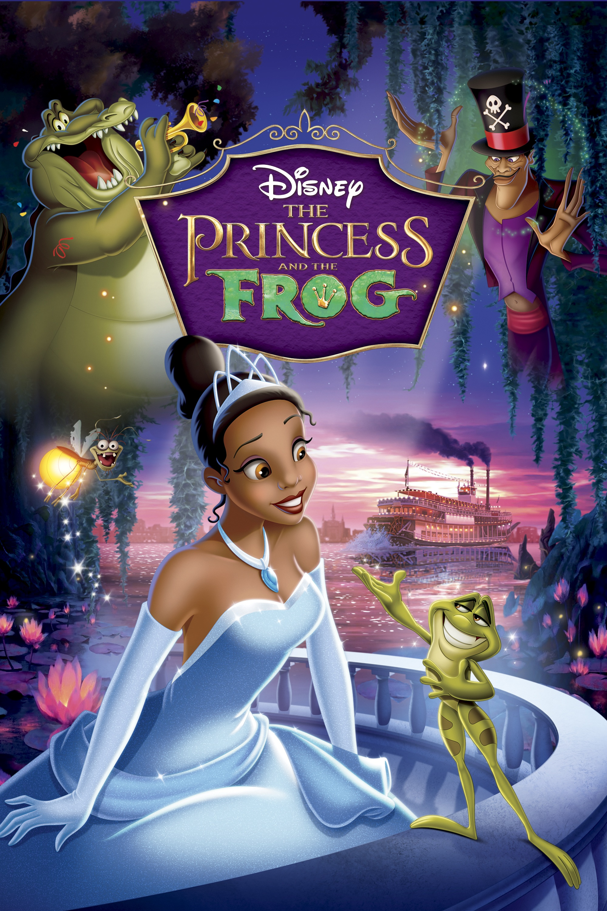 It is a graphic of Striking Princess and the Frog Images