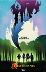 Descendants Silhouette Poster