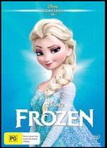 Frozen 2016 AUS DVD