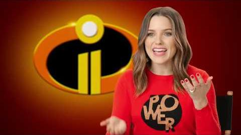 "Incredibles 2 ""Voyd"" Behind The Scenes Sophia Bush Interview"