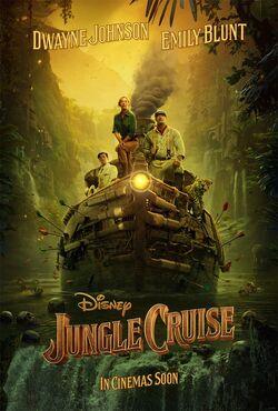 Jungle Cruise - Teaser Pôster Nacional