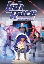 Lab Rats Every Family Has Its Glitches DVD