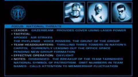 National Supers Agency - Supers audio files (The Incredibles DVD disc 2)