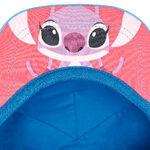 Stitch and Angel Hat - brim underside