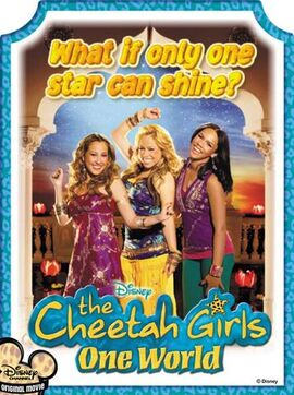 The Cheetah Girls One World Poster