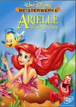 The Little Mermaid 2000 Germany DVD