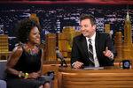 Viola Davis visits Jimmy Fallon