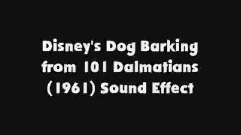 Disney's Dog Barking from 101 Dalmatians 1961 SFX