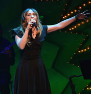 Eden Espinosa performs onstage at Voice for Voiceless event